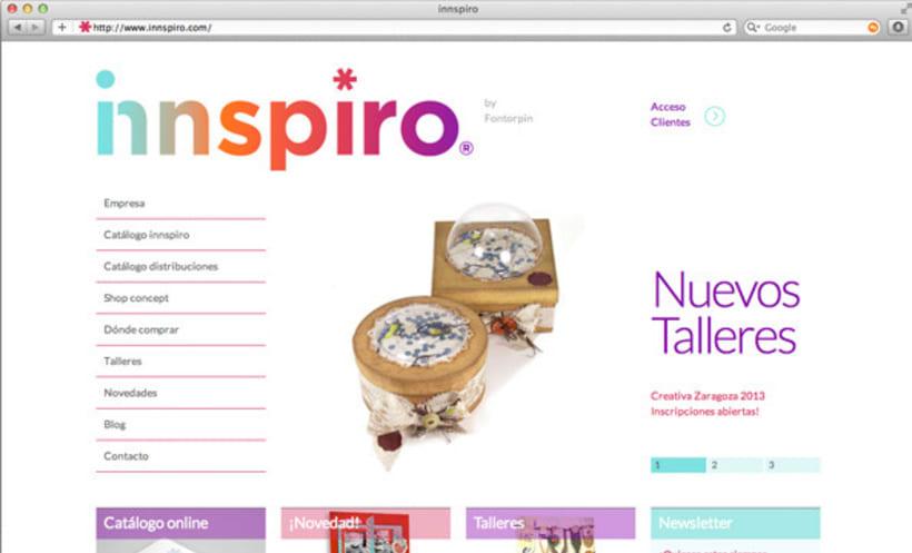 Naming, imagen corporativa y web | Innspiro 10