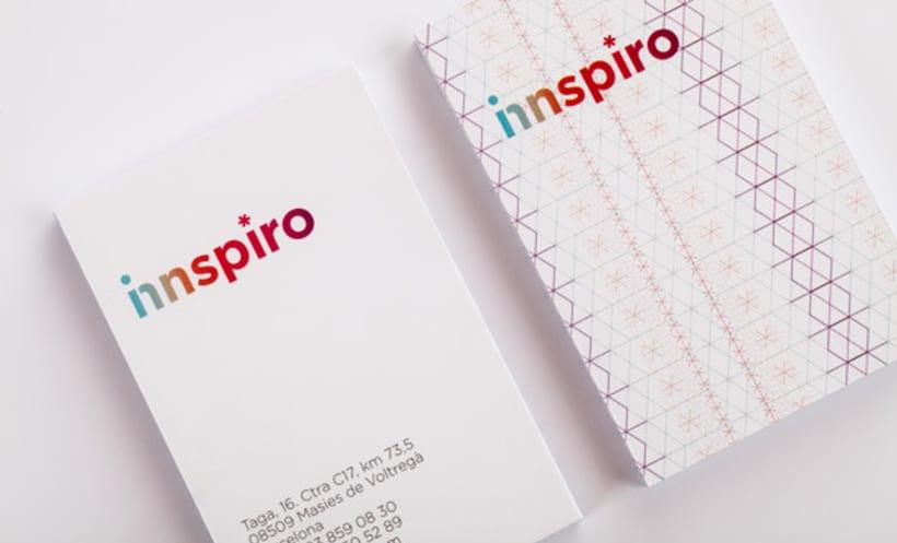 Naming, imagen corporativa y web | Innspiro 4