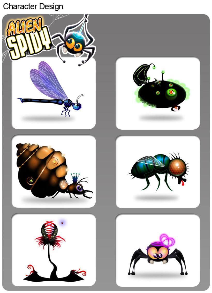 Alien Spidy 5