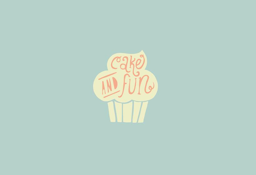 Logotipo para Cake & Fun  3