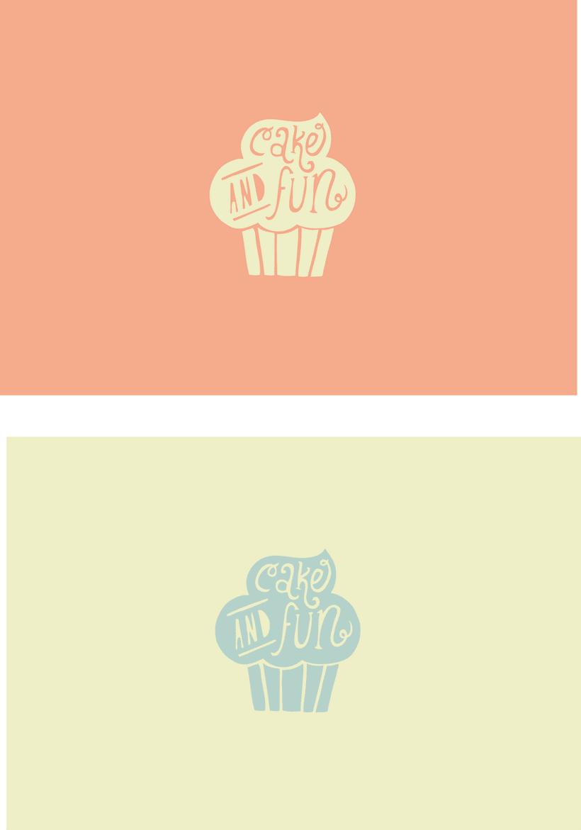Logotipo para Cake & Fun  2