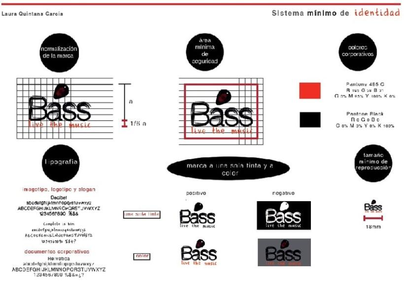 Identidad Corporativa Bass TV 3