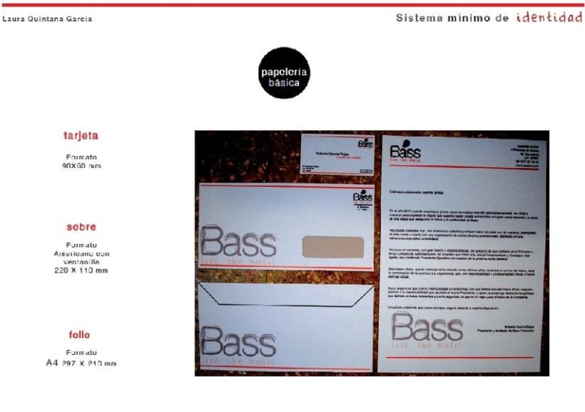 Identidad Corporativa Bass TV 4