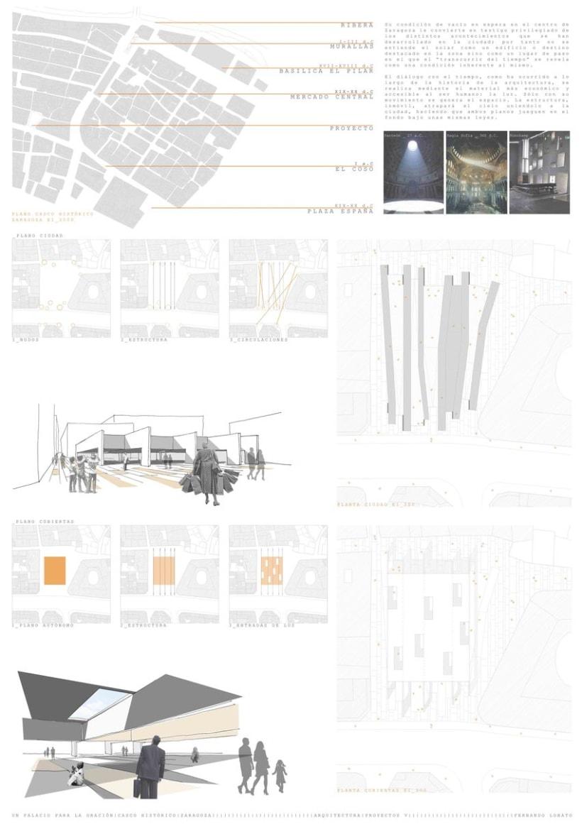 Un Palacio para la Oración, Zaragoza (Proyectos V) 1
