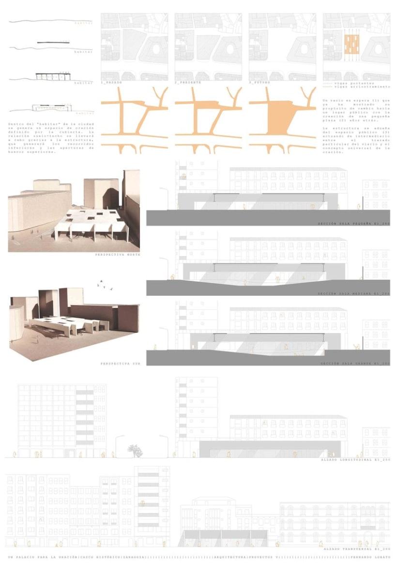 Un Palacio para la Oración, Zaragoza (Proyectos V) 2