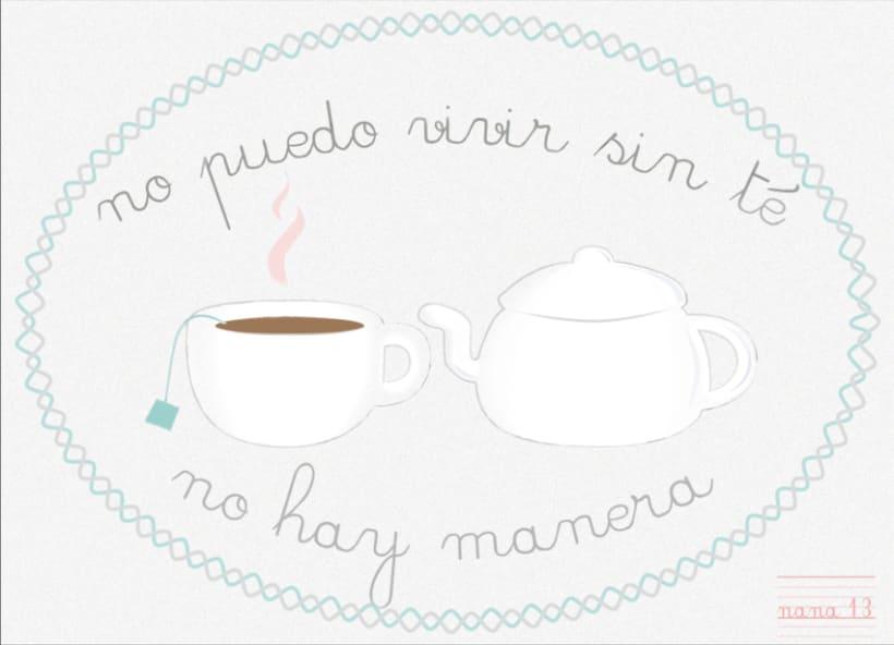 No puedo vivir sin té 1