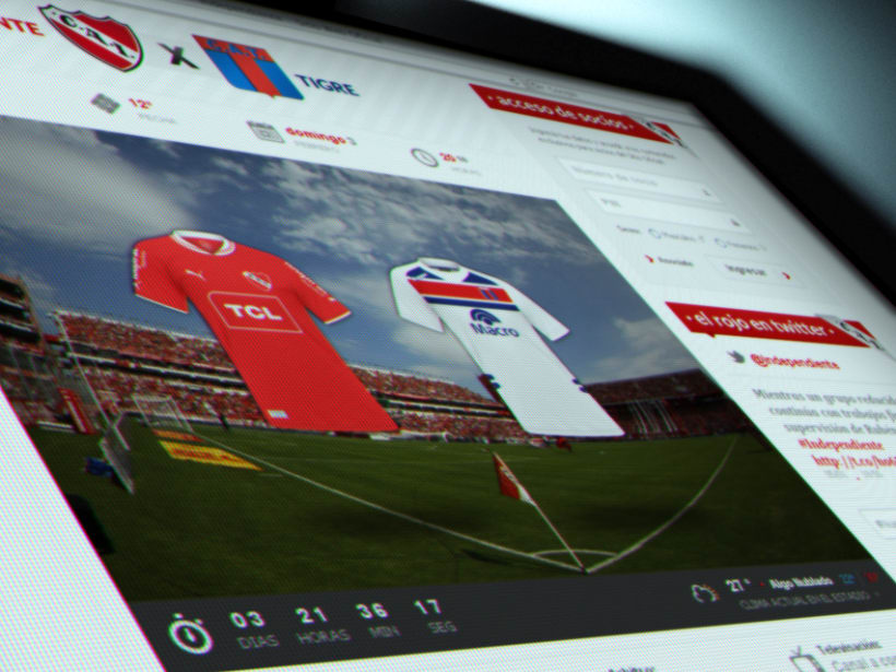 Sitio Web Oficial C. A. Independiente 3