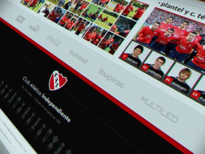 Sitio Web Oficial C. A. Independiente 4