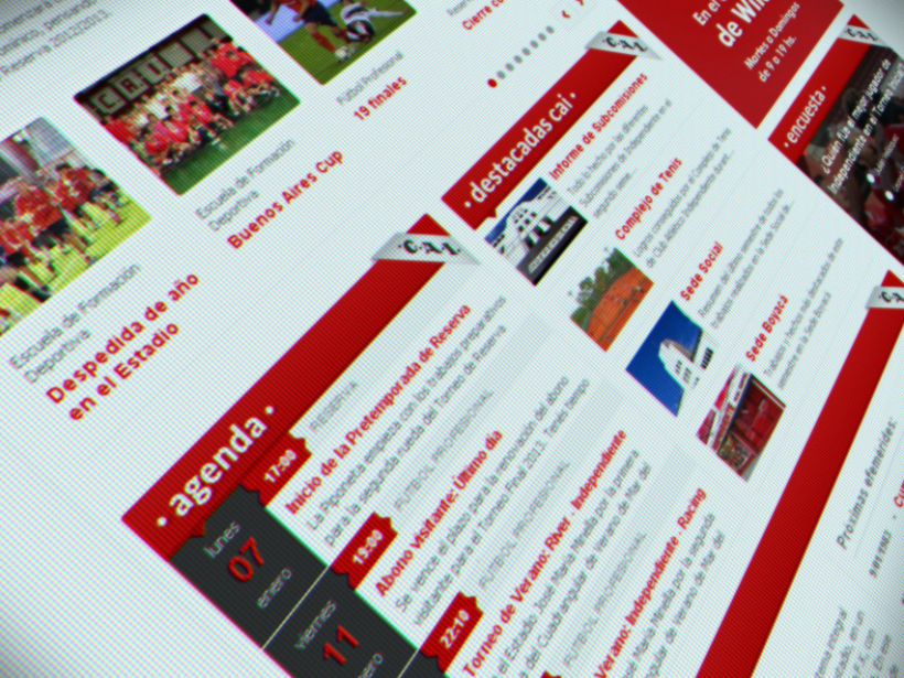 Sitio Web Oficial C. A. Independiente 6