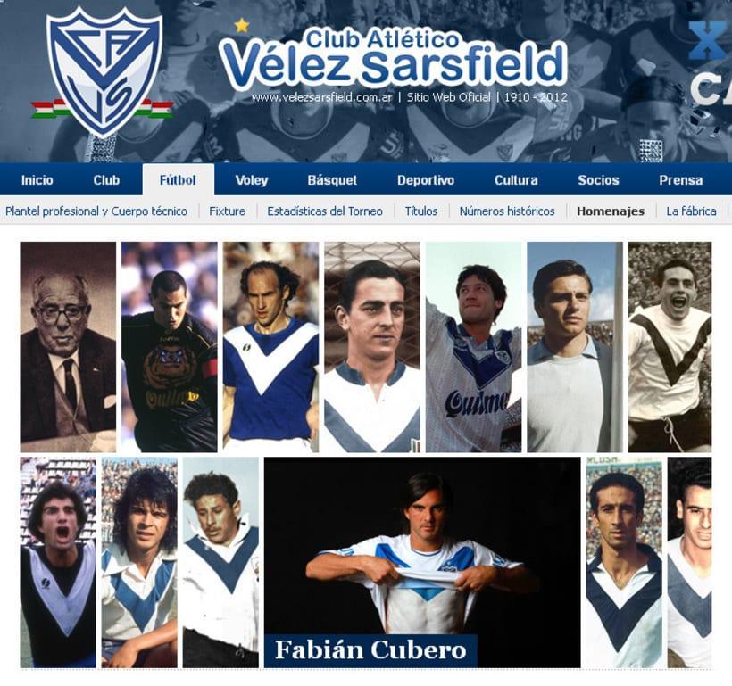 Sitio Web Oficial Vélez Sarsfield 50