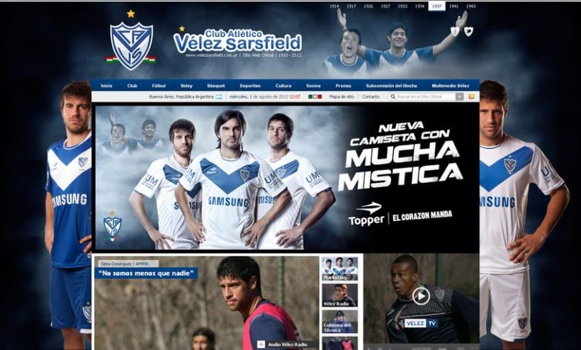 Sitio Web Oficial Vélez Sarsfield 46