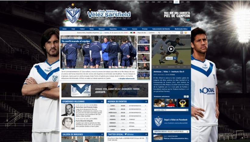 Sitio Web Oficial Vélez Sarsfield 42