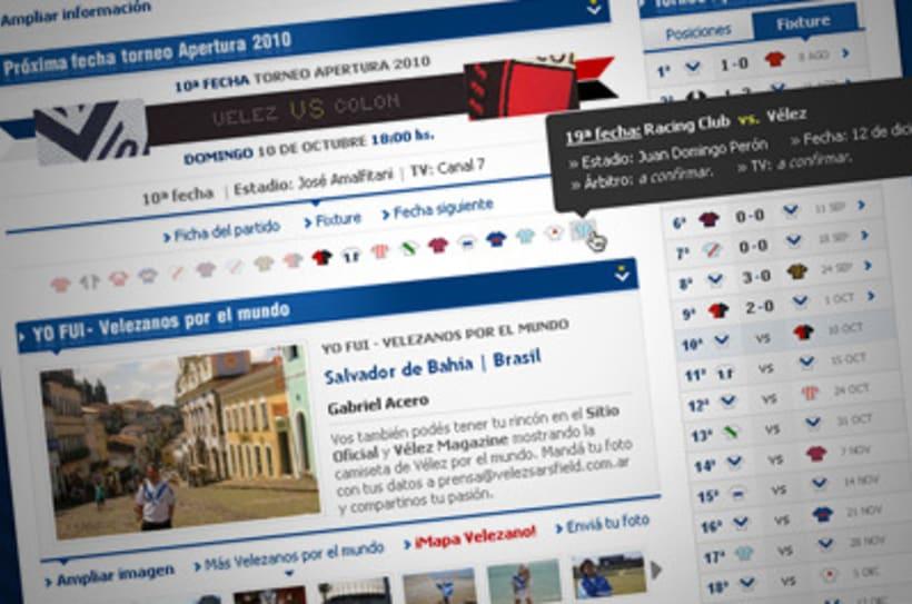 Sitio Web Oficial Vélez Sarsfield 41