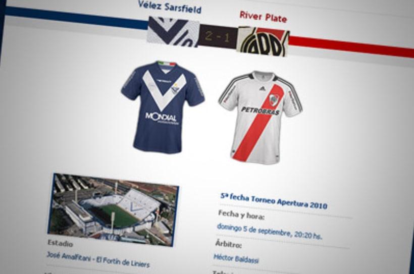 Sitio Web Oficial Vélez Sarsfield 40