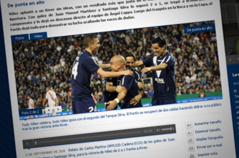 Sitio Web Oficial Vélez Sarsfield 39