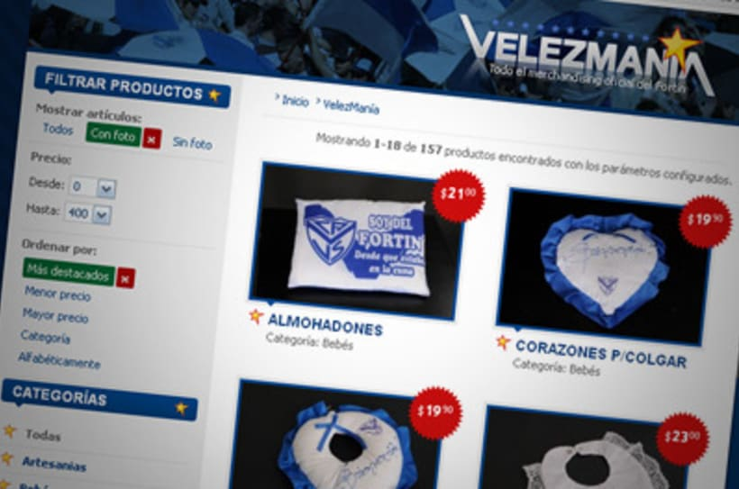 Sitio Web Oficial Vélez Sarsfield 36