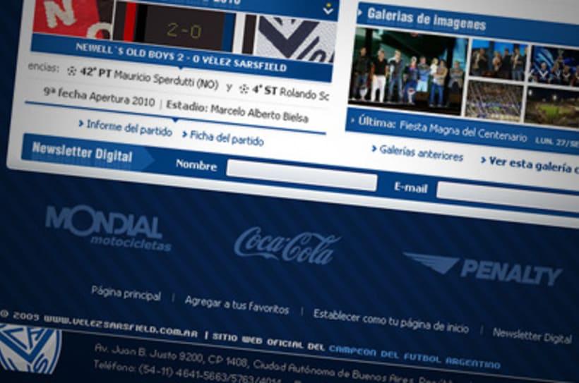 Sitio Web Oficial Vélez Sarsfield 34