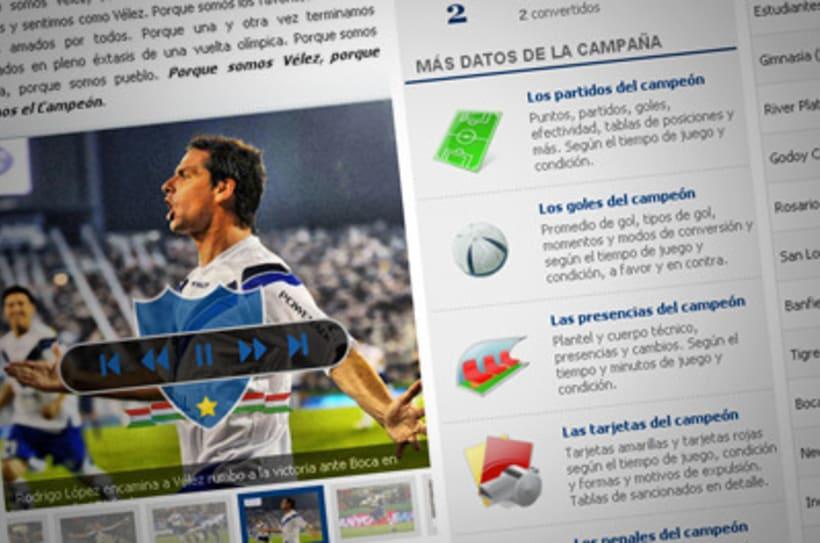Sitio Web Oficial Vélez Sarsfield 33