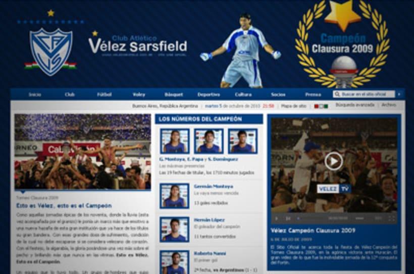 Sitio Web Oficial Vélez Sarsfield 32