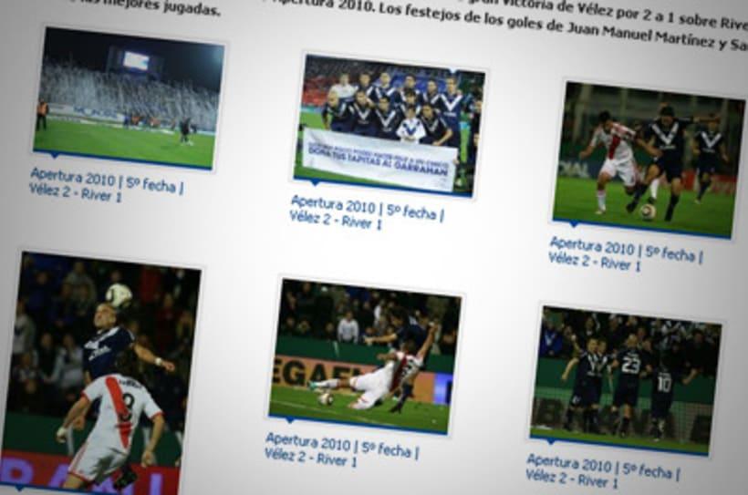 Sitio Web Oficial Vélez Sarsfield 31