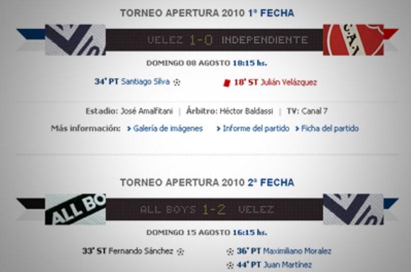 Sitio Web Oficial Vélez Sarsfield 27