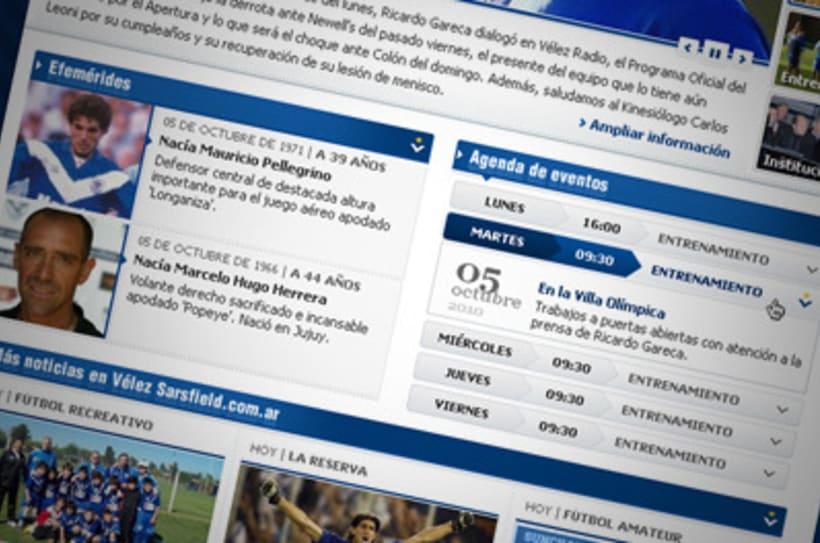 Sitio Web Oficial Vélez Sarsfield 26