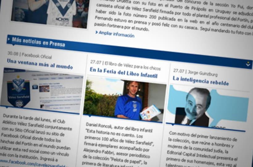 Sitio Web Oficial Vélez Sarsfield 25