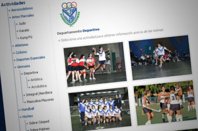 Sitio Web Oficial Vélez Sarsfield 22