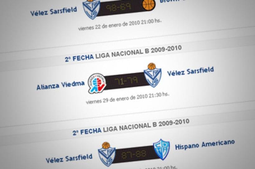 Sitio Web Oficial Vélez Sarsfield 21