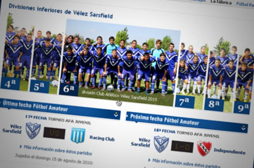 Sitio Web Oficial Vélez Sarsfield 20