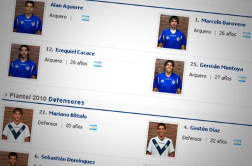Sitio Web Oficial Vélez Sarsfield 17