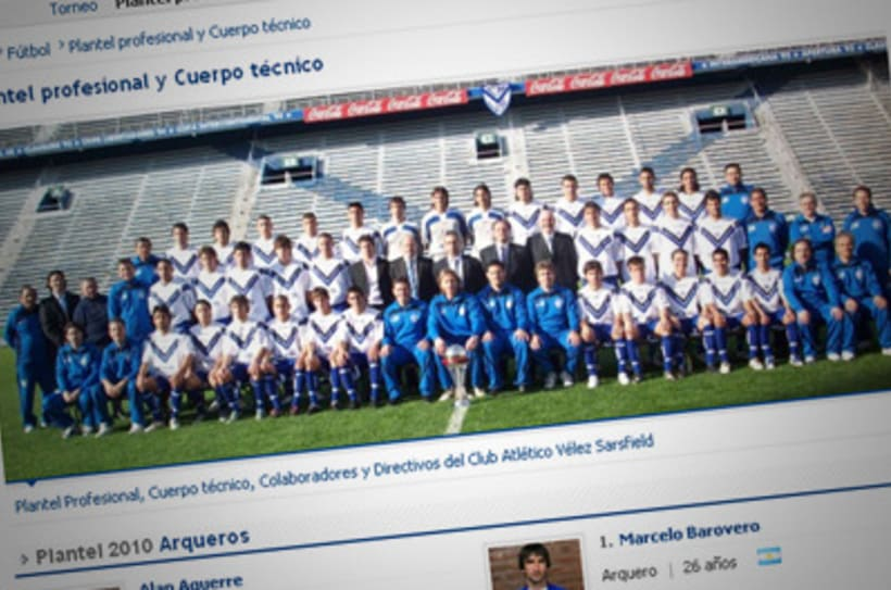 Sitio Web Oficial Vélez Sarsfield 16