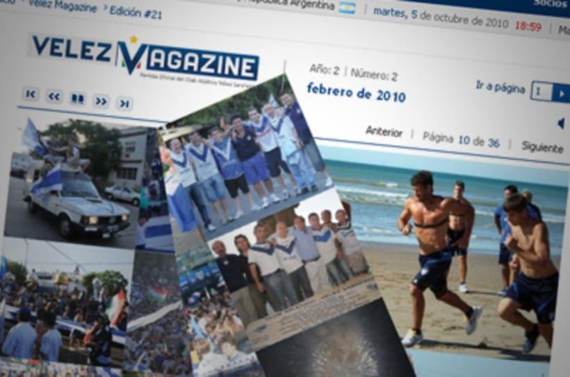 Sitio Web Oficial Vélez Sarsfield 10