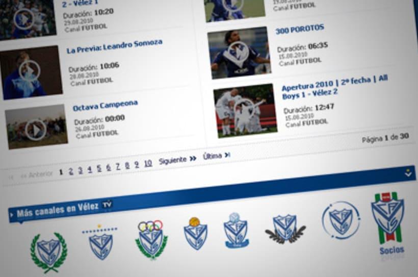 Sitio Web Oficial Vélez Sarsfield 9