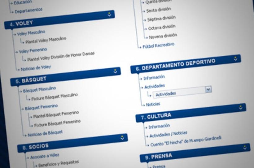 Sitio Web Oficial Vélez Sarsfield 7