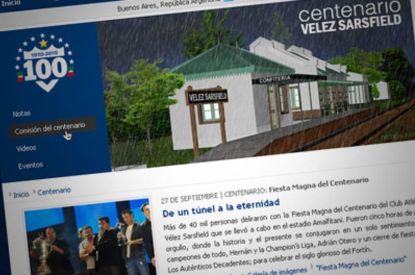 Sitio Web Oficial Vélez Sarsfield 6