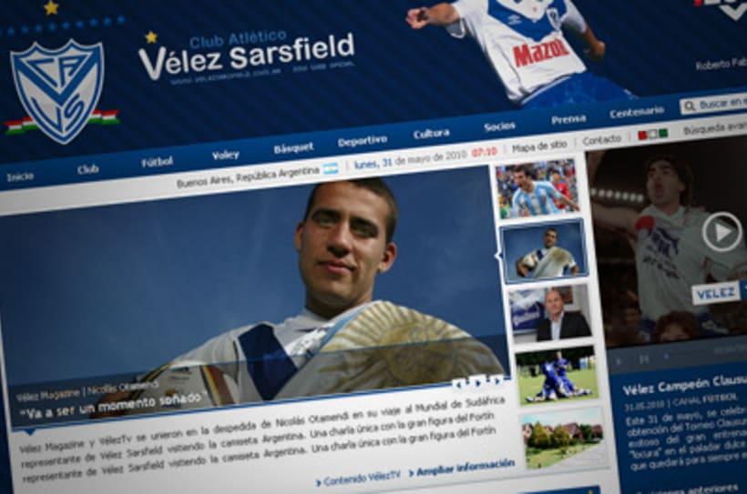 Sitio Web Oficial Vélez Sarsfield 1