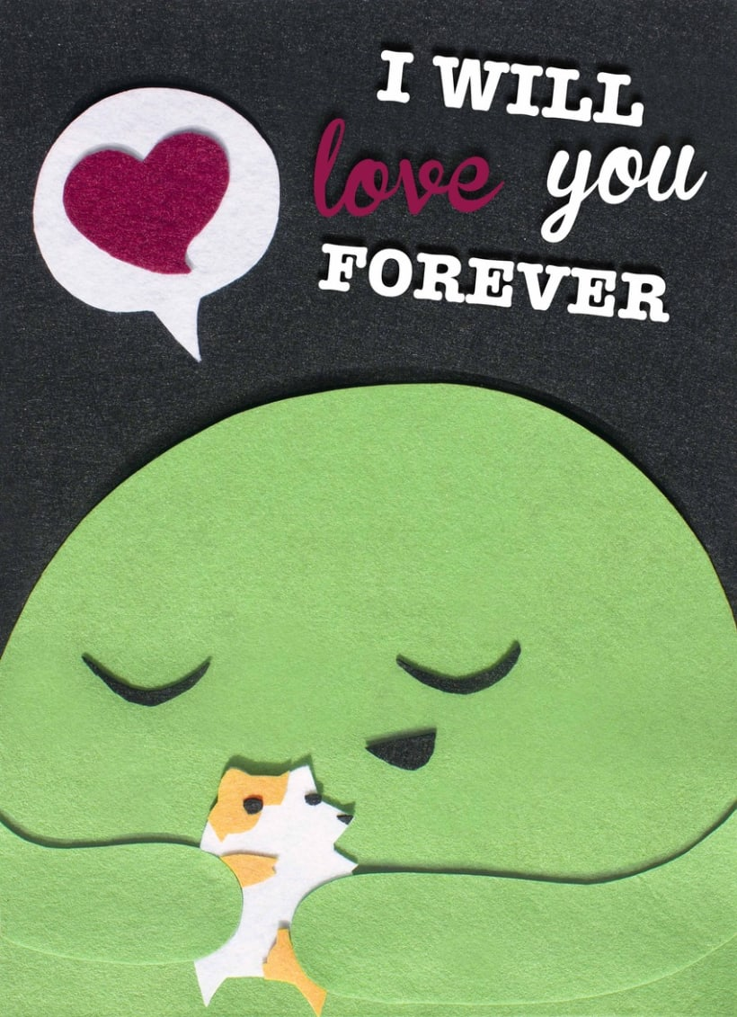 I will love you forever 1