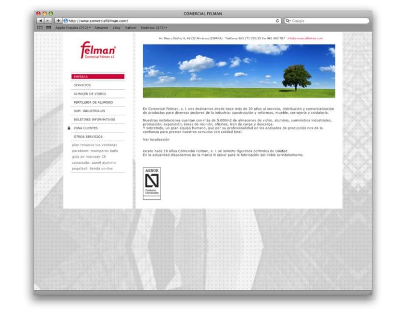 web comercial felman 3