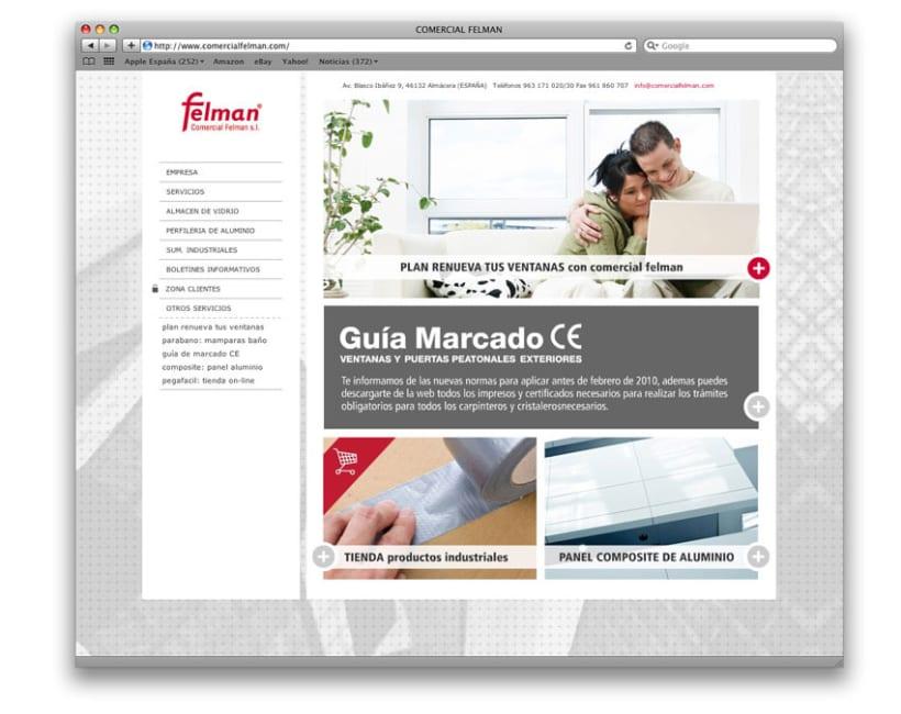 web comercial felman 1