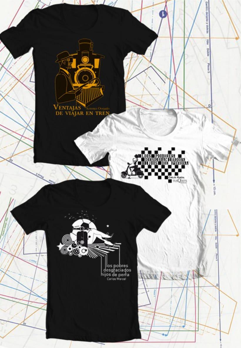 Camisetas de Novela 1