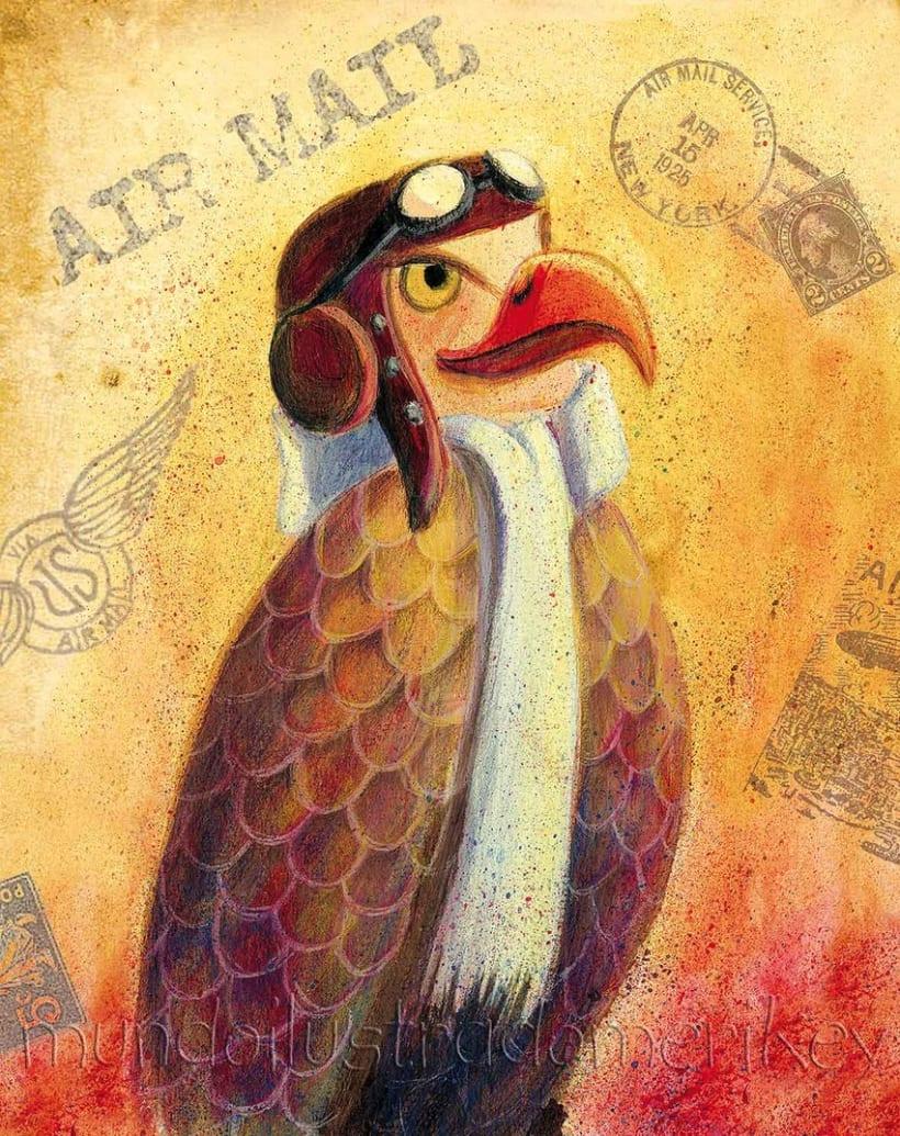Águila mensajera 1