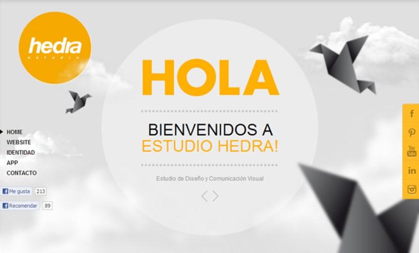 Website Hedra 1