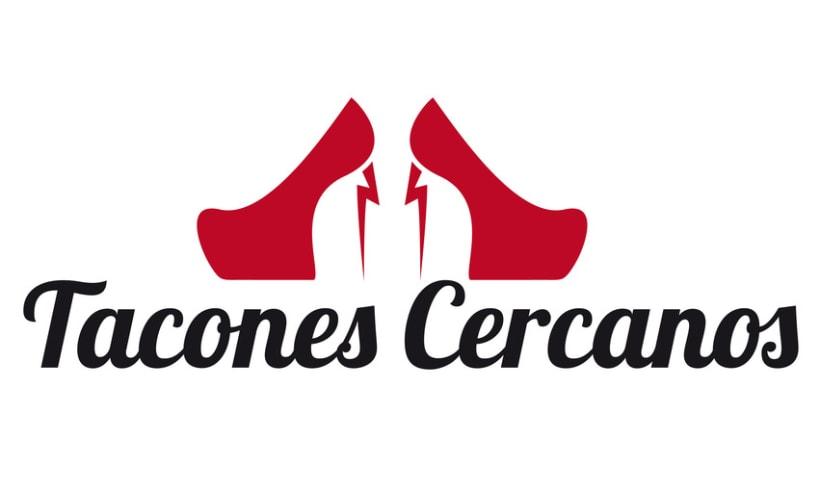 Tacones Cercanos, logo 2