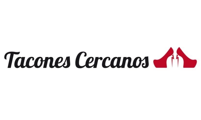 Tacones Cercanos, logo 3