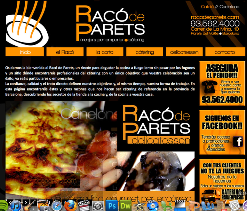 Diseño racodeparets.com 1