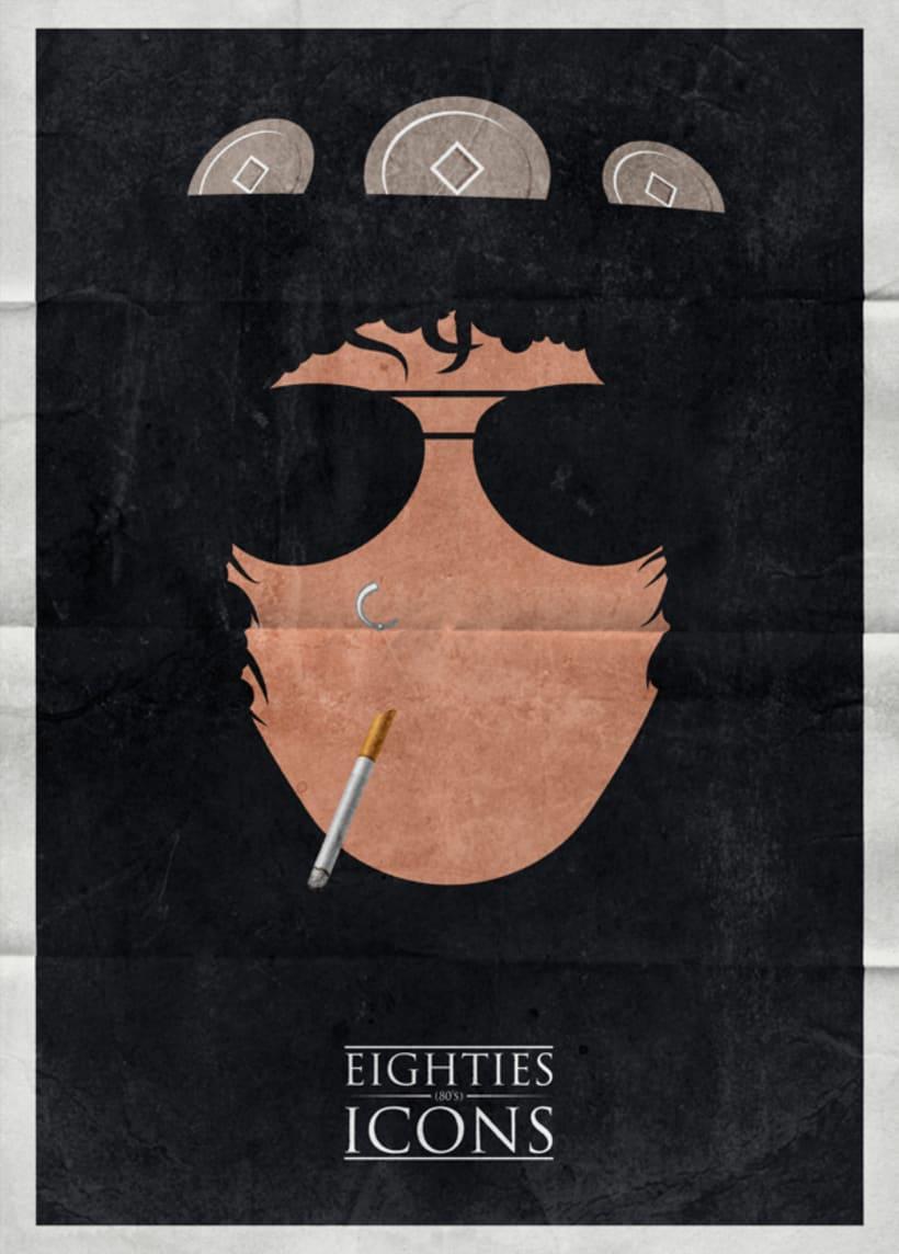 Eighties icons 1