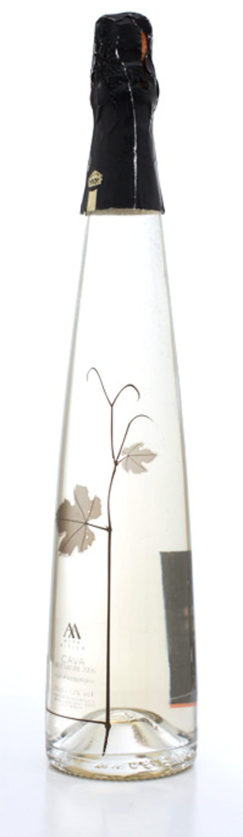 Packaging/PLV para una botella de Blanc de Noirs 1
