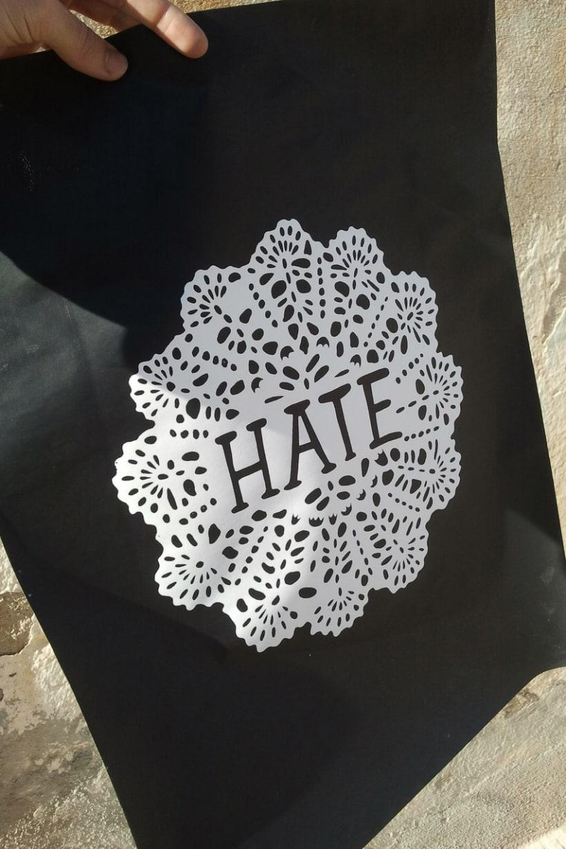 Hate print 1