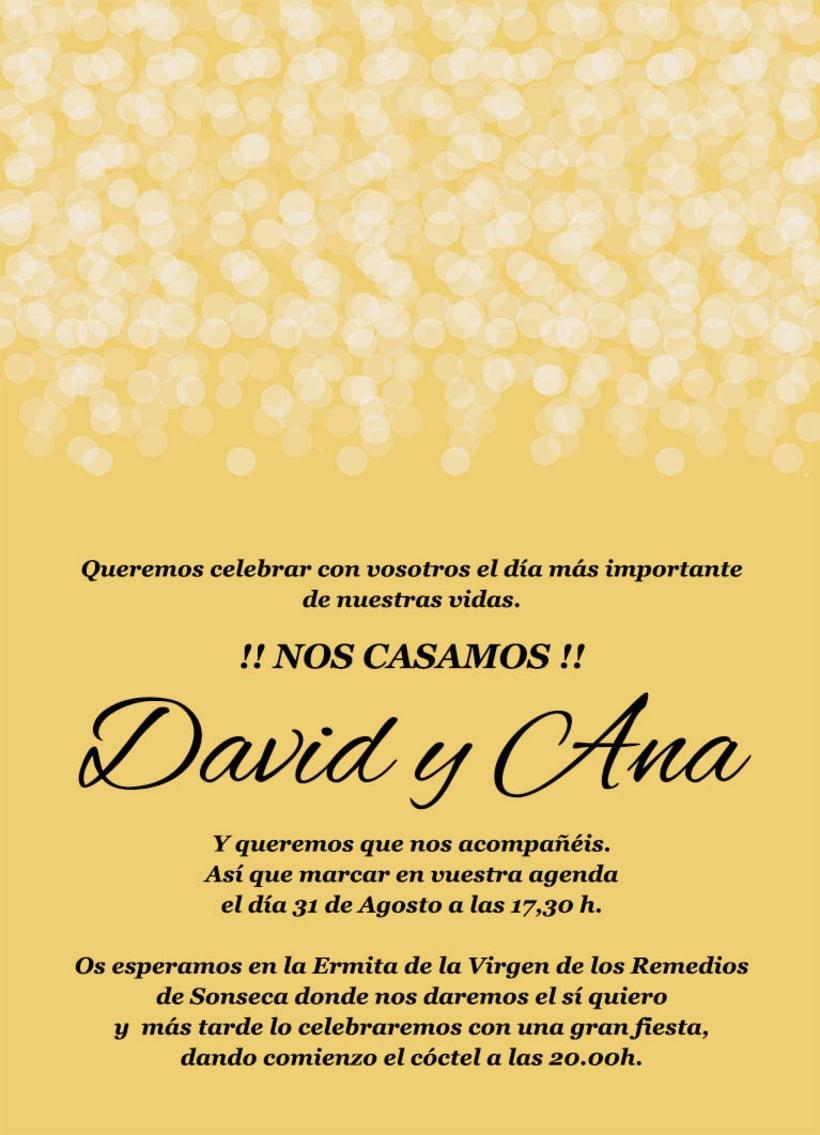 invitaciones en espanol para boda
